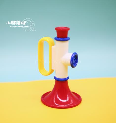 英国ambi toys进口儿童小喇叭玩具宝宝吹奏乐器音乐启蒙艺术培养