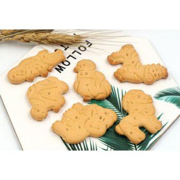 俄罗斯进口动物形饼干全麦代餐休闲食品老式小零食