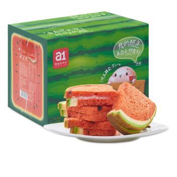 【a1西瓜吐司】面包片整箱早餐网红零食孕妇儿童营养