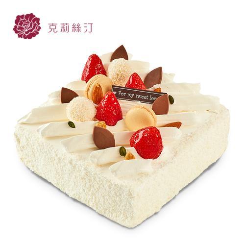 克莉丝汀生日蛋糕慕斯蛋糕乳酪蛋糕芝士水果草莓鲜