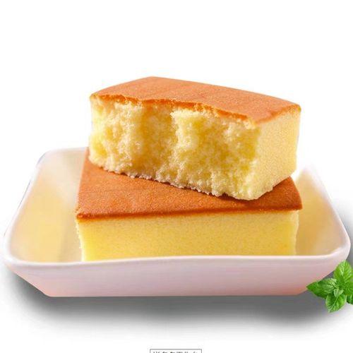 【爆款热卖】营养早餐原味长崎鲜奶鸡蛋糕甜点零食