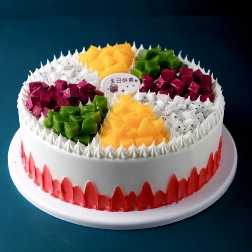 蛋糕模型仿真2020新款新款水果蛋糕模型 新款网红生日