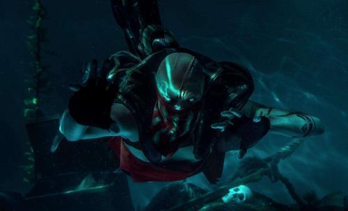英雄联盟之血港鬼影派克他的技能介绍及连招技巧