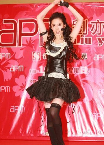 原创刘亦菲原来还有这么一面穿超短裙热舞场面可不多见