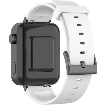 易科森 小米智能手表xmwt01台阶硅胶表带18mm小米手表
