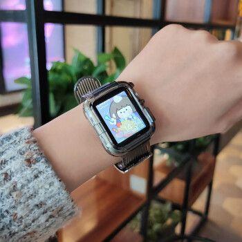 iphone6s plus配合苹果手表 Cluse手表