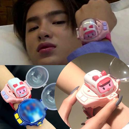 黄明昊的同款玩具新手表 玩具手表