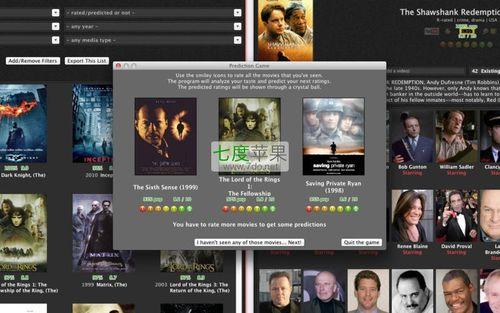 最后如果您想以最合适的价格去观看影片coollector电影资料库将为您