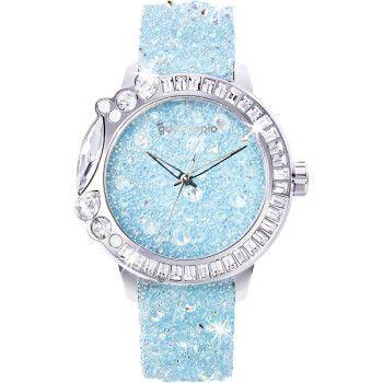 galtiscopio迦堤礼物送女友手表女欧美手表 满天星手表小表盘女士石英